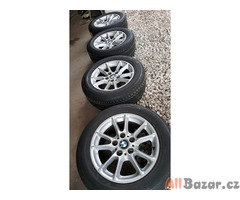 BMW 6755230 5x120 7jx16 is20 pneu Bridgestone Turanza  ER300 10 225/55 alu kola