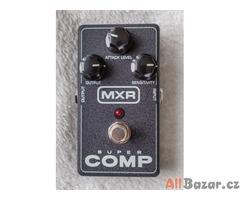 Prodám kytarový kompresor-sustainer MXR Super Comp