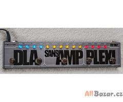 Prodám kytarový multiefekt Tech 21 DLA SansAmp PLEXI Fly Rig 5