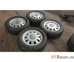 alu kola elektrony Audi s pneu letni 4b0 5x112 6jx15 et45 c.d.4b0601025n pneu mi
