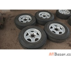 alu kola elektrony offroad 6x139.7 s pneu sava letni 7jx16 et38 pneu 235/70 r16