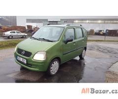 prodám auto Opel Agila 1.0 12V, 43kw, r.v 2003 STK 11/19 Servo, originalni autor