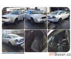 prodám auto Audi A6 Quattro 4x4 2.8 V6 142kw, r.v 1998, stk do 4/2020, najeto 22
