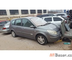 veškeré náhradní díly cena dohodou Renault Grand Scenic 1.9dci 88kw 7mist vesker