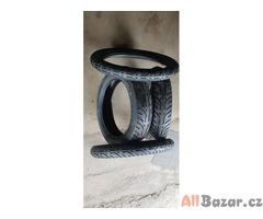 nové nepoužité pneu na motorku sava mc7 3.25 r18 52p a pneu sava kran mc7 120/90