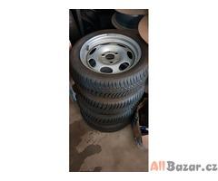 smart plechove disky 3x112 5.5jx15 et22 a 2x4.5jx15 et29.5 pneu kumho 175/55 r15