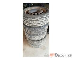 5xplechové disky 1j0601027 5x100 6.5jx16 et42  pneu 205/55 r16 91t 2x50% a jinak