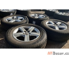 alu kola elektrony Audi 8R0071497 germany 5x112 7jx17 et37 pneu Dunlop 235/65 r1