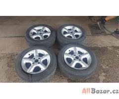 alu kola elektrony Fondmetal 4x108 7jx15 et38 pneu na dojetí 205/60 r15 cena:349