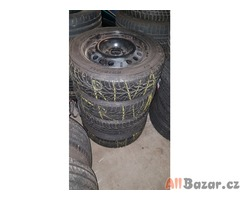 plechové disky OP515021 orig. opel 4x100 6jx15 et43 pneu fulda 185/60 r15 84t 2x