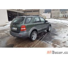 Kia Sorento 4x4 2.5crdi  103kw,bez koroze,  nova STK a emise na 2 roky, r.v 2003