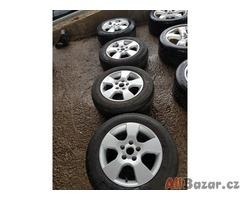 sada alu kol Škoda octavia 2 1Z0601025 5x112 6.5jx15 et50 alu kola jsou v super