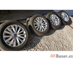 sada alu kola Volkswagen Audi 3D0 s pneu Nokian WR A3 80%  5x112 7.5jx17 et40 pn