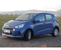Hyundai i10 1.0i, 2017, Family+ ČR, 1 maj, Serv. Kniha