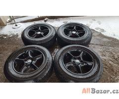 alu kola elektrony orig. BMW 5x120 7.5jx17 is40 černý lak c.d.109615910 nové pne