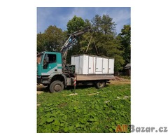 prodám nákladní automobil Iveco 190 4x4 sklápěč s hydraulickou rukou 8m dosah ru