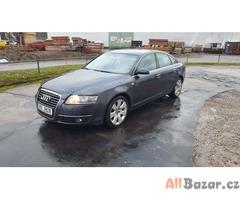 prodam auto Audi A6 3.0tdi Quattro, sedan, 165kw (224 koni), max vybava kuze, xe