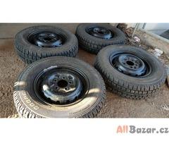pevnostní plechové disky mercedes G W460 c.d.4604000202 5x130 5.5jx16 pneu coope