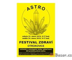 Astro-Festival zdraví, OTROKOVICE, 23.-24.2.2019