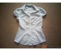 Letní plátěná košile s proužkem