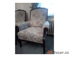 Prodám repliku secesního sedacího nábytku-sofa+2 křesla