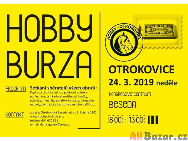 Hobby burza - Otrokovice, 24.3.2019