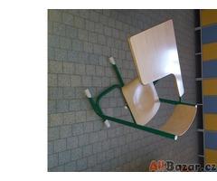 Židle se stolečkem 10ks