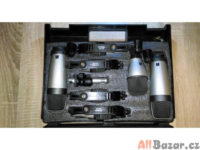 Sadu mikrofonů na bicí v kufru *Samson 8-Kit Drum Microphone Set*