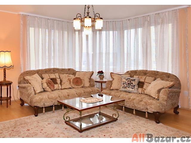 Luxusní italsky nabytek-obývací pokoj.Doprava zdarma