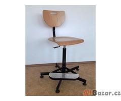 Židle dílenská zvýšená Werek.