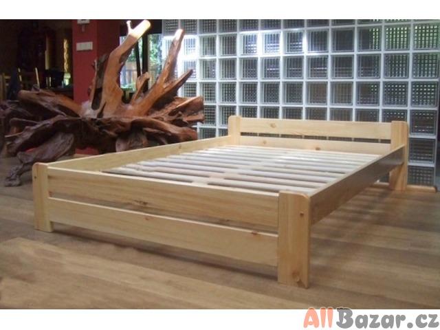 Nová postel masiv 180X200 rošt