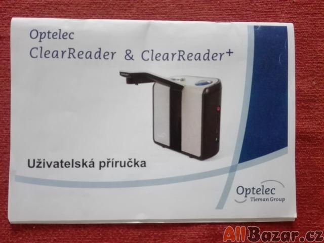 Hlasová čtečka ClearReader+ pro nevidomé
