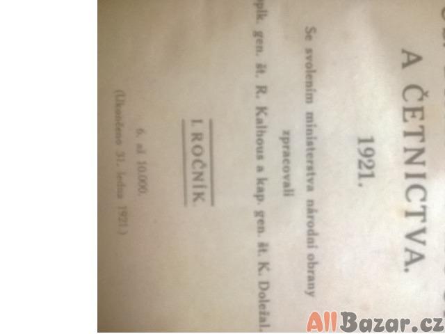 ALMANACH ČS.BRANNÉ MOCI A ČETNICTVA 1921