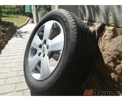 Hliníkové disky včetně pneumatik