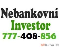 Půjčka od investora 777408856