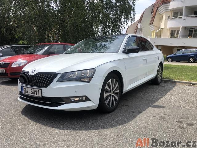 Škoda Superb III CANTON, ACC, nezávislé topení