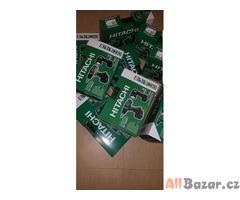 Prodám aku vrtačky Hitachi 14v za 1700za1700kcv 2000kc