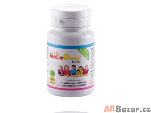Factor Base Kids vitamínové žvýkací tablety pro děti