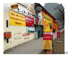 AKompas Brno nebankovní půjčka úvěr bez zástavy i se záz. v  registru