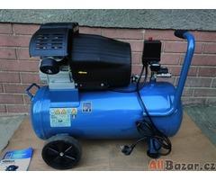 Prodám 2-pístový kompresor Workzone WZ-AC 400/50 - 10 Barů NEPOUŽITÝ.