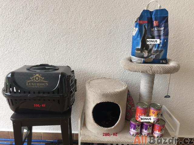 Škrabadlo, cestovní klec pro kočky