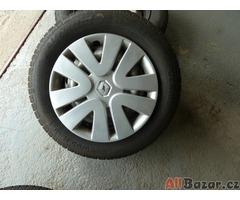 Ocelové disky, včetně pneu, na renault scenic ll.