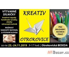 Kreativ OTROKOVICE, 23.-24.11.2019