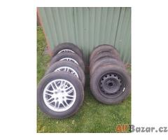 Prodám letní a zimní pneumatiky