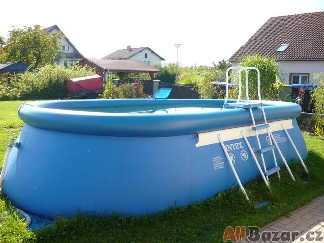 Bazén + písková filtrace