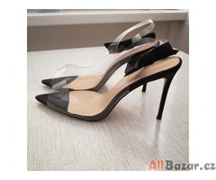 Dámské boty na vyšším podpatku