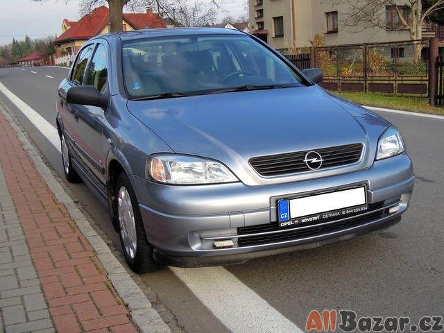 Opel Astra 1,4i 16V 1 Majitel, 82000 Km, 2009, Původ ČR