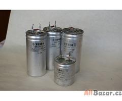 Kompenzační kondenzátory 6-25 mikrofaradů 400V