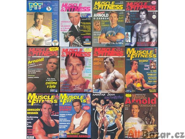 Kulturistické a sportovní časopisy