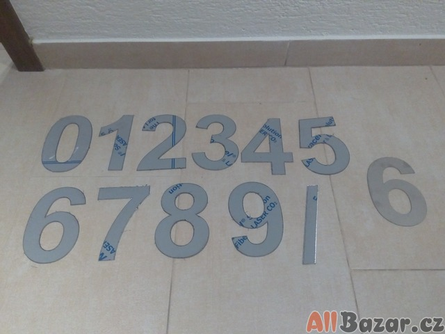 Číslice na dům
